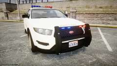 GTA V Vapid Interceptor LSS White [ELS]