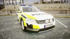 Volkswagen Passat 2014 Marked Norwegian Police для GTA 4