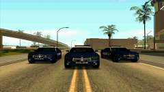 FCPD Dodge Charger SRT8 для GTA San Andreas