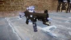 Пистолет-пулемёт UMP45 Blue Tiger