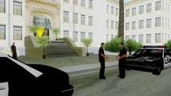 Оживление всех полицейских участков для GTA San Andreas