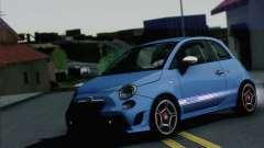 Fiat 500 Abarth 2008 для GTA San Andreas