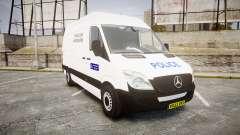 Mercedes-Benz Sprinter 311 cdi London Police для GTA 4