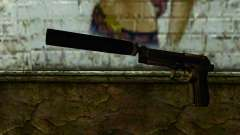 Beretta M9 Silenced для GTA San Andreas