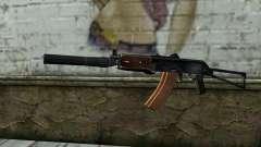 АКС-74У с ПБС-5 для GTA San Andreas