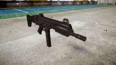 Пистолет-пулемет SMT40 with butt icon3