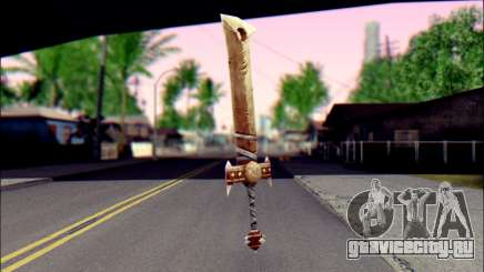 Меч (World Of Warcraft) для GTA San Andreas