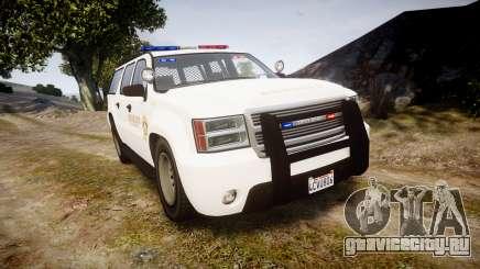 GTA V Declasse Granger LSS White [ELS] для GTA 4