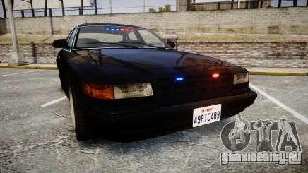GTA V Vapid Stanier FIB [ELS] для GTA 4