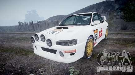 Subaru Impreza WRC 1998 SA Competio v3.0 для GTA 4