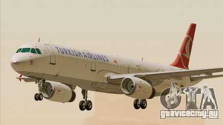 Airbus A321-200 Turkish Airlines для GTA San Andreas