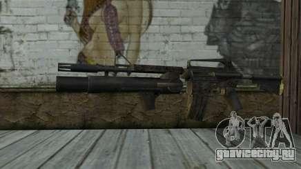 CAR-15 with XM-148 from Battlefield: Vietnam для GTA San Andreas