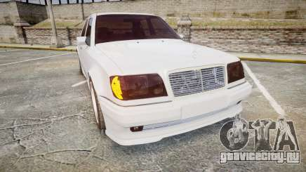 Mercedes-Benz E500 1998 Tuned Wheel White для GTA 4
