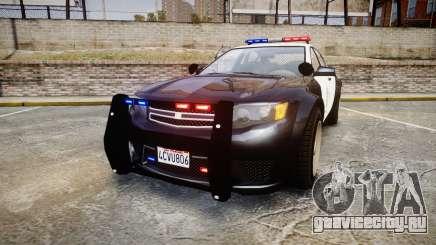 GTA V Cheval Fugitive LS Police [ELS] для GTA 4
