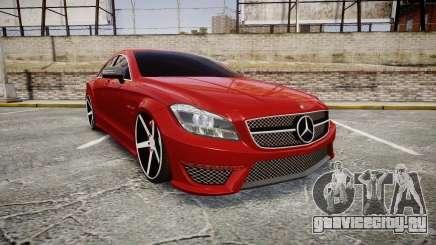 Mercedes-Benz CLS 63 AMG Vossen для GTA 4