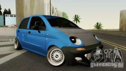 Daewoo Matiz Tuned для GTA San Andreas