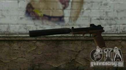 FN FNP-45 С Глушителем и Прицелом для GTA San Andreas