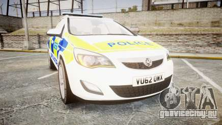 Vauxhall Astra Estate Metropolitan Police [ELS] для GTA 4
