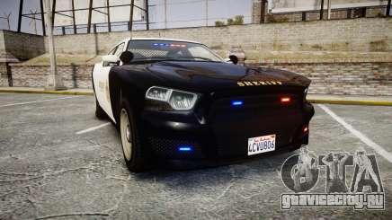 GTA V Bravado Buffalo LS Sheriff Black [ELS] Sli для GTA 4