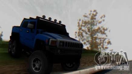 Hummer H6 Sut Pickup для GTA San Andreas