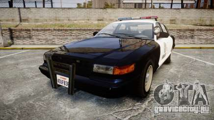 Vapid Police Cruiser GTA V LED [ELS] для GTA 4