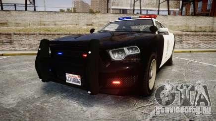 GTA V Bravado Buffalo LS Police [ELS] для GTA 4