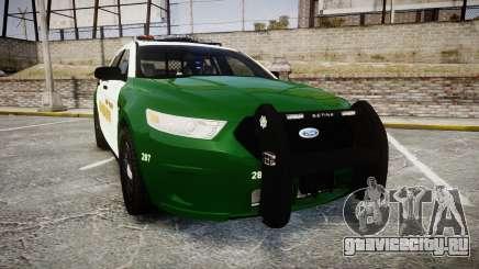 Ford Taurus 2014 Liberty City Sheriff [ELS] для GTA 4