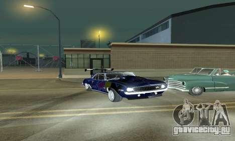 Chevrolet Camaro SS RedBull для GTA San Andreas