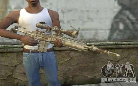 M14 EBR Digidesert для GTA San Andreas третий скриншот