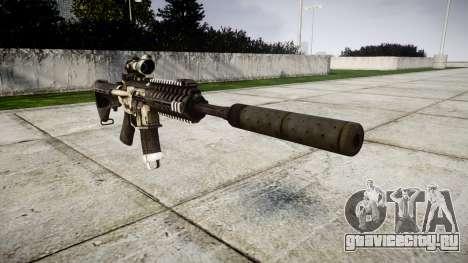 Автомат P416 ACOG silencer PJ1 для GTA 4