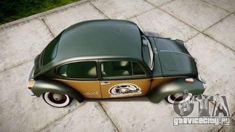 Volkswagen Beetle для GTA 4 вид справа