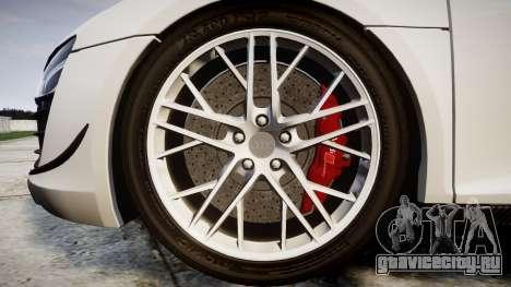 Audi R8 LMX 2015 [EPM] Carbon Series для GTA 4 вид сзади
