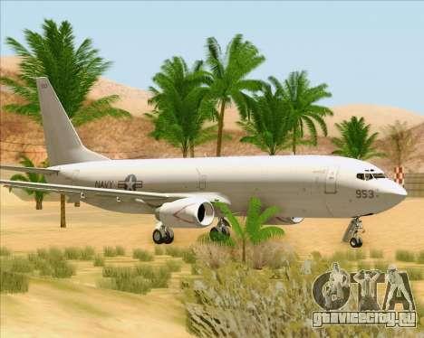 Boeing P-8 Poseidon US Navy для GTA San Andreas вид слева