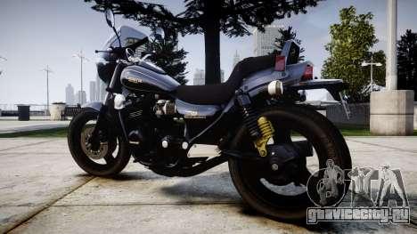 Kawasaki Eliminator 400SE для GTA 4 вид слева