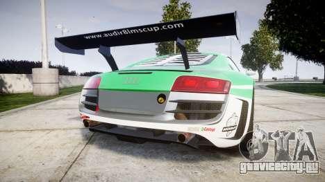 Audi R8 LMS Castrol EDGE для GTA 4 вид сзади слева
