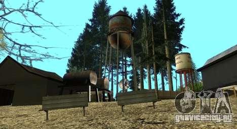 Лагерь Altruist на горе Чилиад для GTA San Andreas десятый скриншот