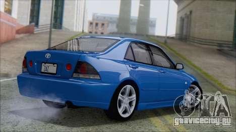 Toyota Altezza (RS200) 2004 (АПП) для GTA San Andreas вид слева