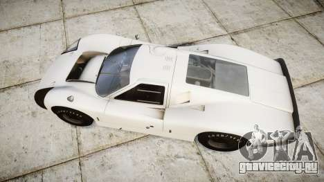Ford GT40 Mark IV 1967 для GTA 4 вид справа