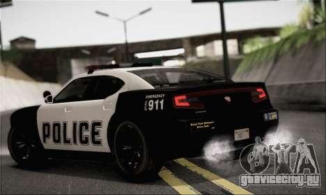 Bravado Buffalo S Police Edition (HQLM) для GTA San Andreas вид слева