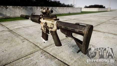 Автомат P416 ACOG silencer PJ1 target для GTA 4 второй скриншот