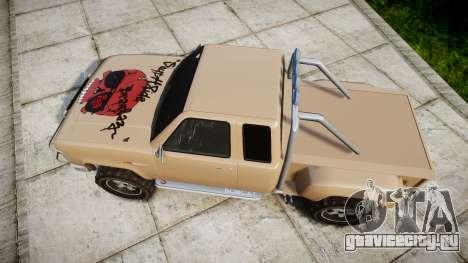 Vapid Bobcat Desert для GTA 4 вид справа
