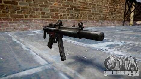 Пистолет-пулемёт MP5SD DRS CS b target для GTA 4