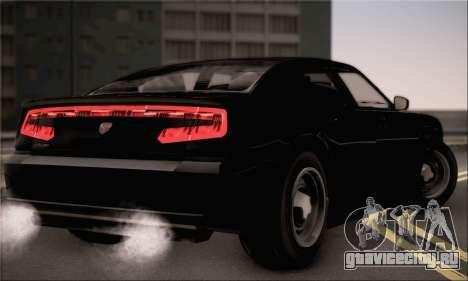 Bravado Buffalo S FIB для GTA San Andreas вид слева