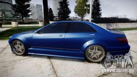 Benefactor Schafter Mercedes-Benz для GTA 4 вид слева