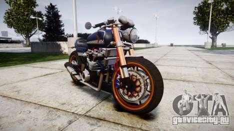 Honda CB750 cafe racer для GTA 4