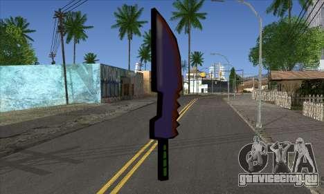 Мультяшный меч для GTA San Andreas второй скриншот