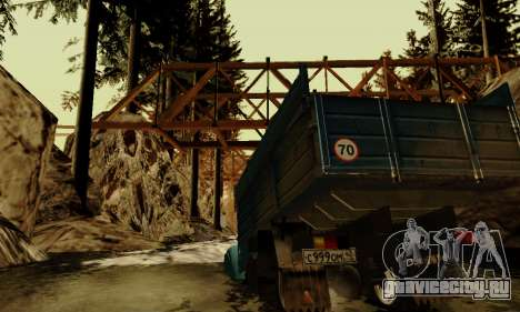 Трасса для бездорожья 4.0 для GTA San Andreas девятый скриншот