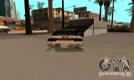 Nissan 240SX Rusted для GTA San Andreas вид справа