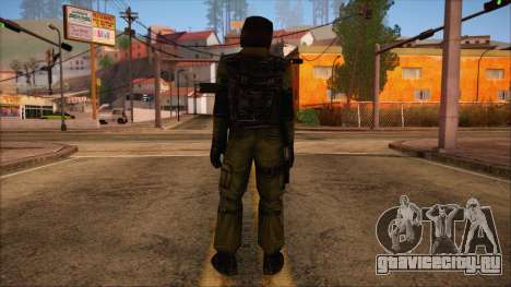Urban from Counter Strike Condition Zero для GTA San Andreas второй скриншот