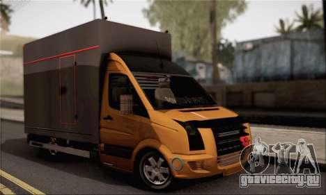 Volkswagen Crafter для GTA San Andreas